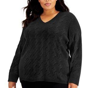 Calvin Klein Chain Stitch Sweater - 2XL (NWT)